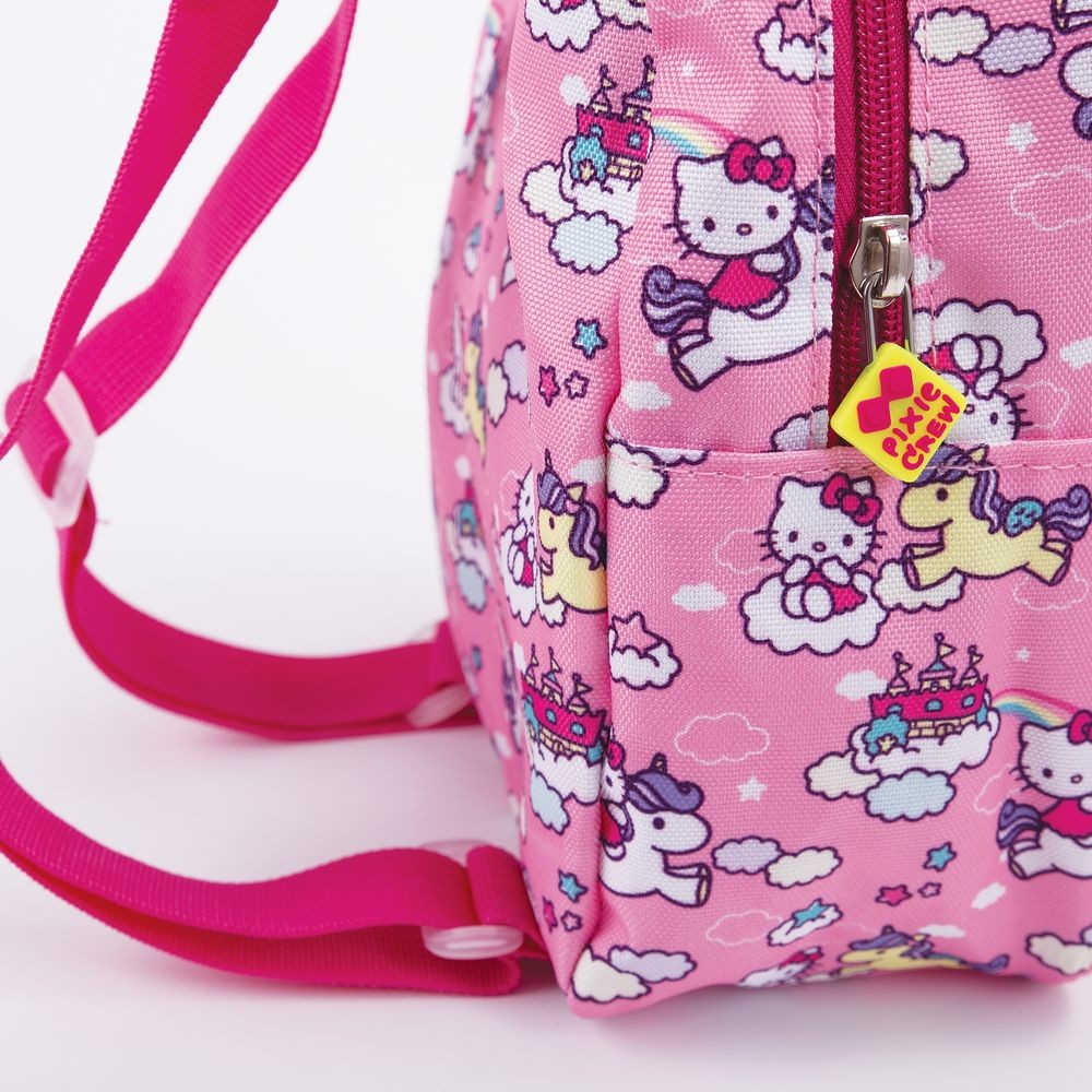 955f38dc8 Creative pixelated children's backpack Hello Kitty - unicorn PXB-24 ...
