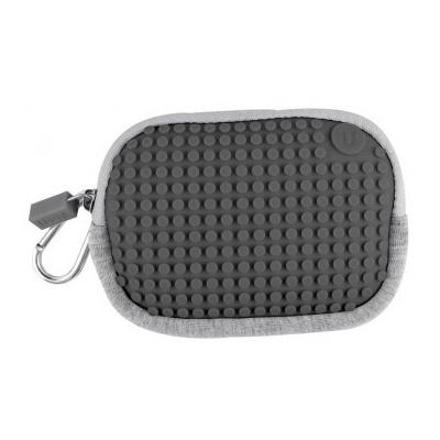 PIXELBAGS creative pixel purse grey B006
