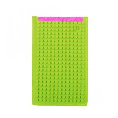 PIXELBAGS creative pixel phone case fuchsia-green B009