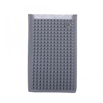 PIXELBAGS creative pixel phone case grey B009