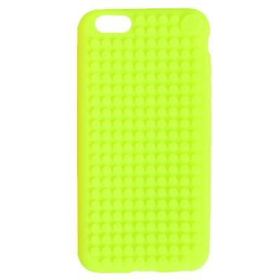 PIXELBAGS creative pixel iPhone 6 plus case green C007
