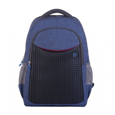 Creative school pixel backpack blue PXB-05-E24
