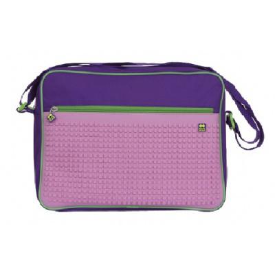 Creative pixel messenger purple/pink PXB-03-F17