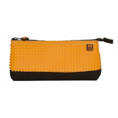 Creative school pixel pencil case orange/black PXA-01-L03