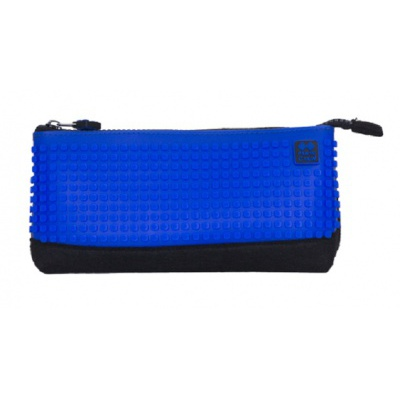 Creative school pixel pencil case royal blue/black PXA-01-F15