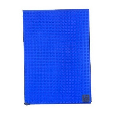 Creative pixel notepad with a case blue PXN-01-07