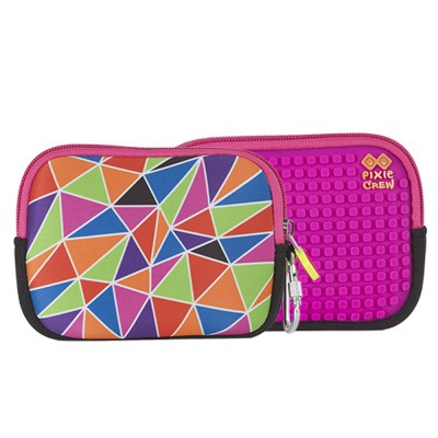 PIXIE CREW creative pixel purse multi-colour mosaic PXA-08-05
