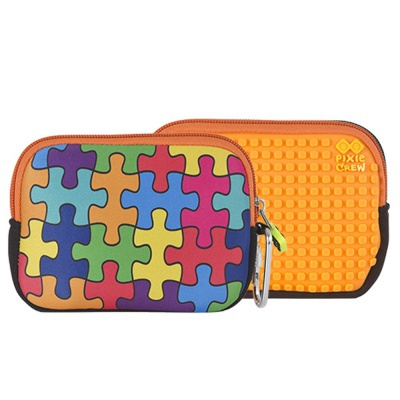 PIXIE CREW creative pixel purse multi-colour jigsaw puzzle PXA-08-09