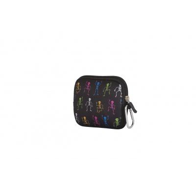 PIXIE CREW creative pixel purse multi-colour skeleton PXA-08-10