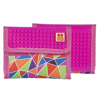 PIXIE CREW creative pixel wallet multi-colour mosaic PXA-10-05