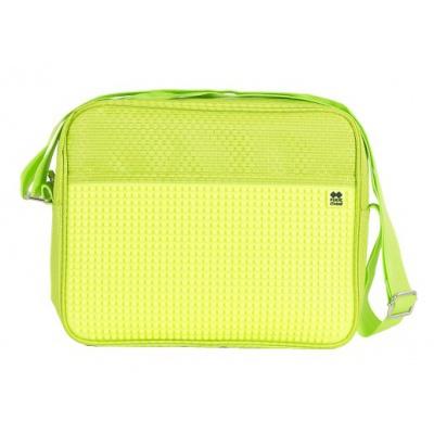 Creative pixelated shoulder bag neon green PXB-13-D05