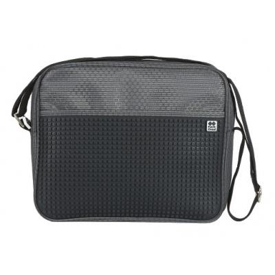 Creative pixelated shoulder bag black PXB-13-L24