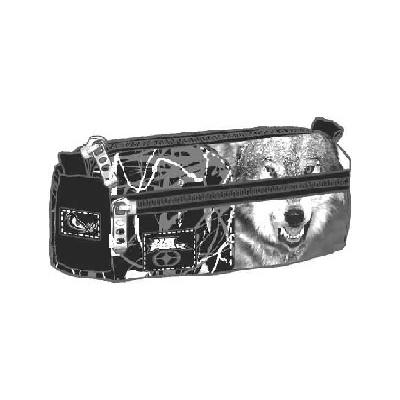 No Fear Snowolf round pencil case B0127-6