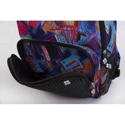 Freetime creative pixelated backpack multicoloured/black PBX-02-R24