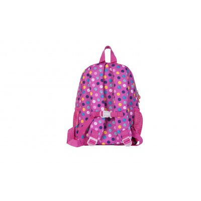 Creative pixelated children's backpack coloured dots/fluorescent glow-in-the-dark PXB-18-01