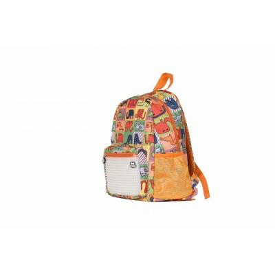 Creative pixelated children's backpack merry zoo/glow-in-the-dark PXB-18-02