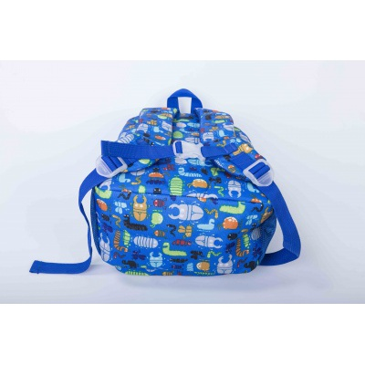 Creative pixelated children's backpack beetles/glow-in-the-dark PXB-18-03