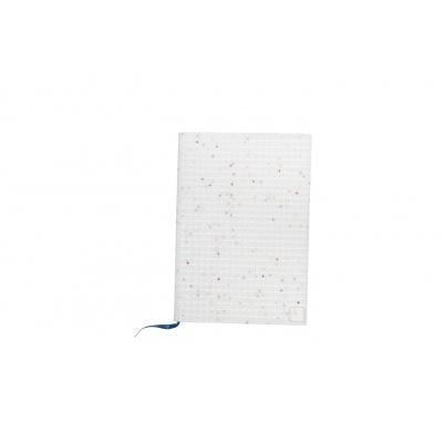 Creative pixelated diary with white stars case PXN-01-G22