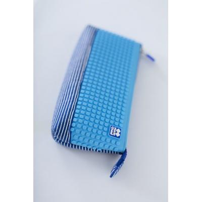 Creative school pixel pencil case royal blue/blue PXA-02-E10