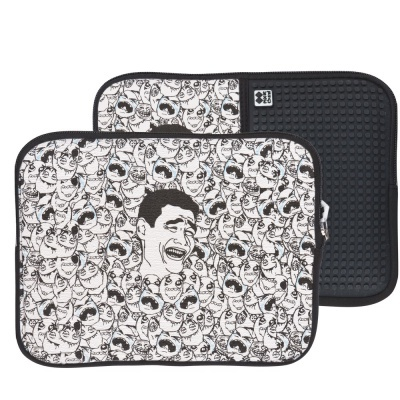 Creative pixelated tablet case YAOMING PIXIE CREW PXT-08