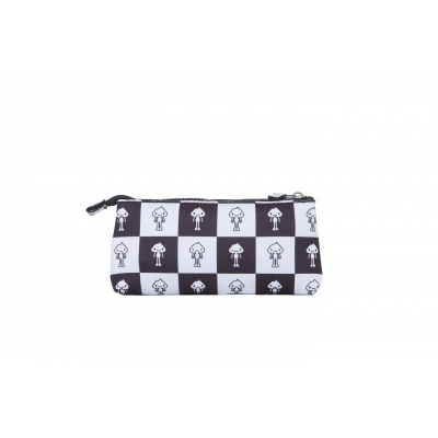 Creative pixelated school pencil case KAKI PXA-02