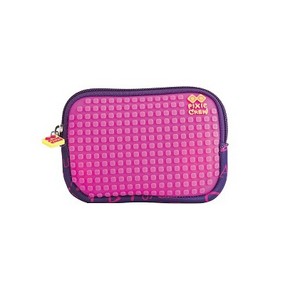 Creative pixelated mini bag PIXIE CREW purple alphabet PXA-08