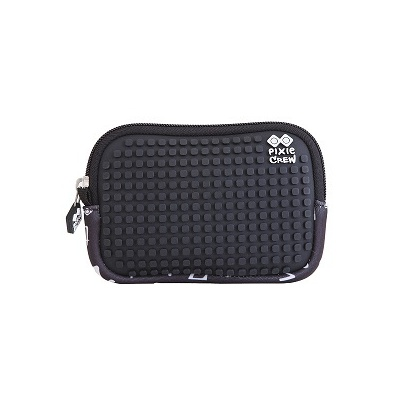 Creative pixelated mini bag PIXIE CREW black alphabet PXA-08
