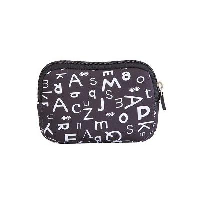 Creative pixelated mini bag PIXIE CREW black alphabet PXA-08