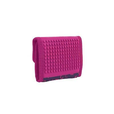 Creative pixelated purse PIXIE CREW purple alphabet PXA-10