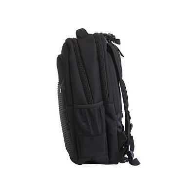 Creative pixelated school backpack black PXB-05-L24