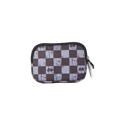 Creative pixelated mini bag PIXIE CREW grey checkered PXA-08-15