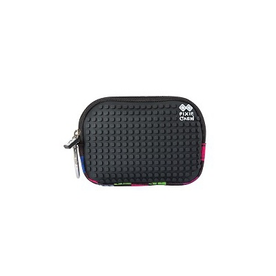 Creative pixelated mini bag PIXIE CREW multicoloured checkered PXA-08-16