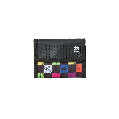 Creative pixelated purse PIXIE CREW multicoloured checkered PXA-10-16