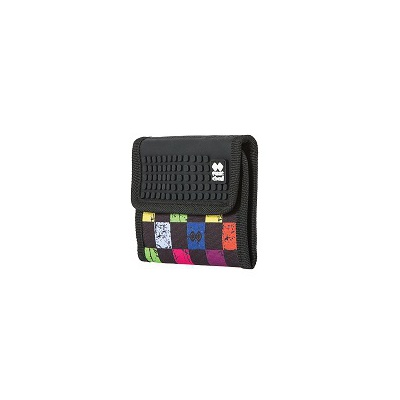 Creative pixelated purse PIXIE CREW multicoloured checkered PXA-10-16