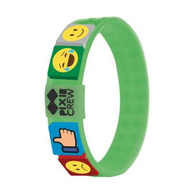 Creative pixelated bracelet green