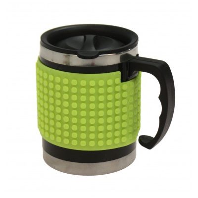 Creative pixelated cup neon green PXN-02-05