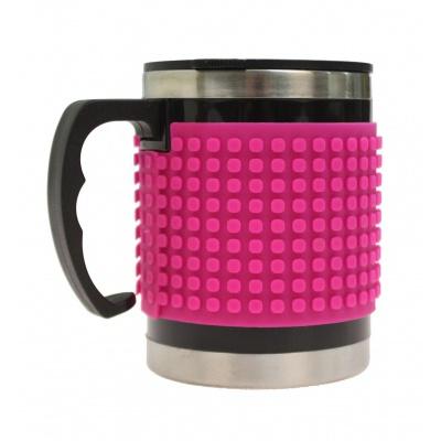 Creative pixelated cup fuchsia PXN-02-15