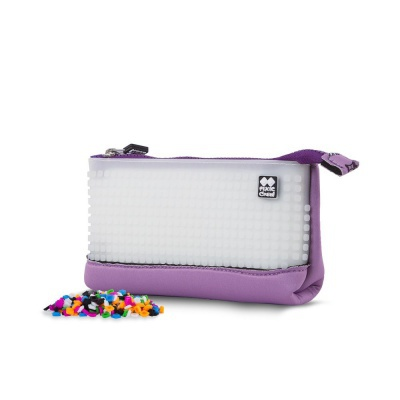 Creative pixel school pencil case Hello Kitty - purple PXA-02-89