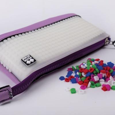 Creative pixel school pencil case Hello Kitty - purple PXA-02-89