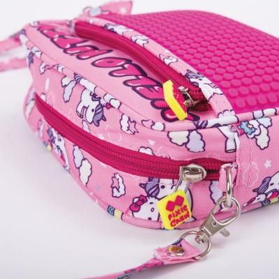 Creative pixelated shoulder bag Hello Kitty unicorn PXB-09-88