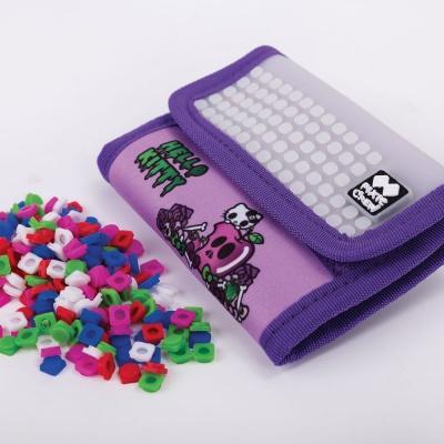 PIXIE CREW creative pixel wallet Hello Kitty purple PXA-10-89