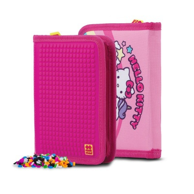 Creative pixelated school pencil case Hello Kitty - unicorn PXA-04-88