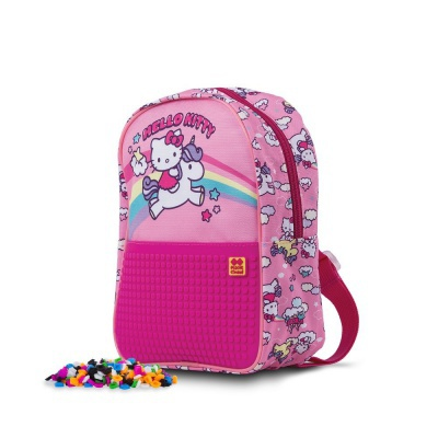 Creative pixelated children's backpack Hello Kitty - unicorn PXB-24-88