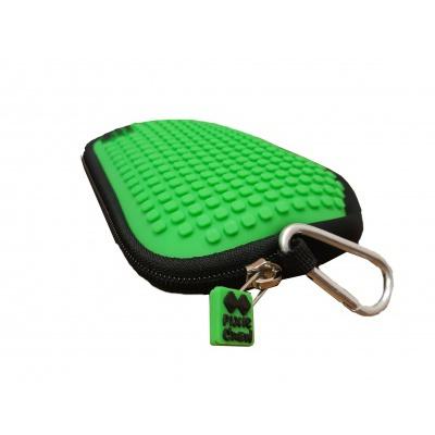 PIXIE CREW creative pixel purse green cube PXA-08-18