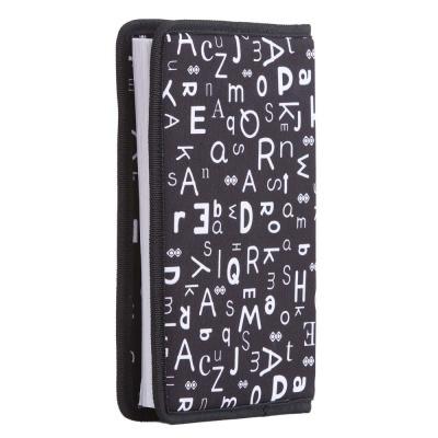 Creative pixelated diary with black alphabet case PXN-07