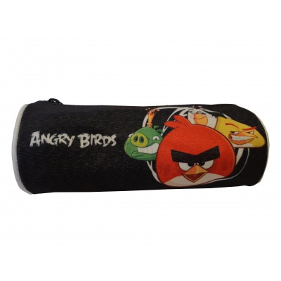 Angry Birds round pencil case B0046-6