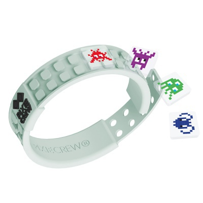 Creative pixelated bracelet glow in the dark - digi