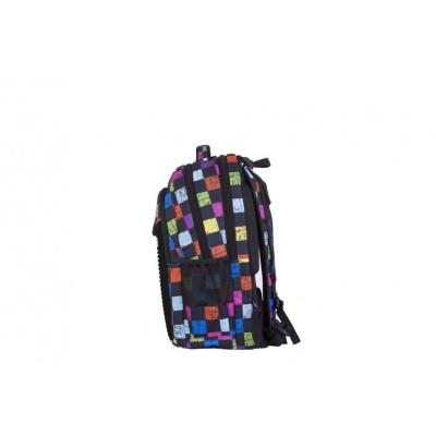 Creative school pixel backpack checked pattern PXB-06-Y24