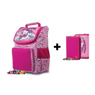SET School bag + penal Hello Kitty PXB-22-88-SET