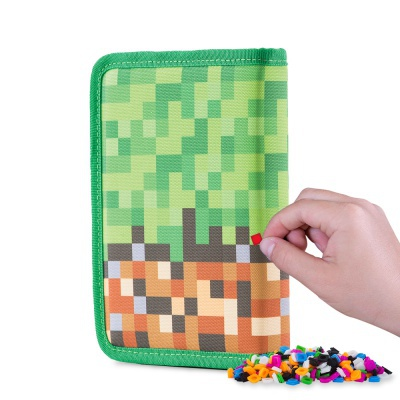 Creative pixelated school pencil case Adventure PXA-04-83